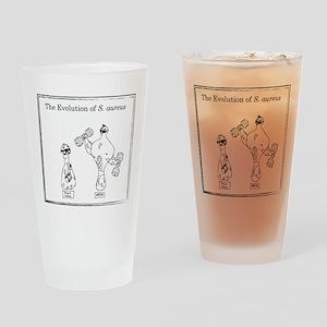 The Evolution of Staph aureus Drinking Glass