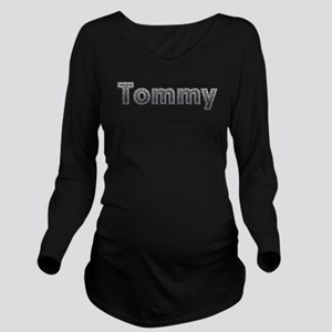 Tommy Metal Long Sleeve Maternity T-Shirt
