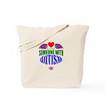heart of autism (shirt) Tote Bag