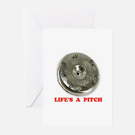PITCH PIPE Greeting Cards (Pk of 10)