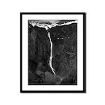 Avalanch Lake Framed Panel Print