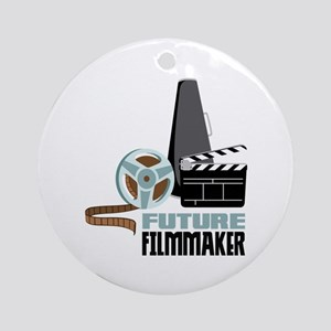 Future Filmmaker Ornament (Round)