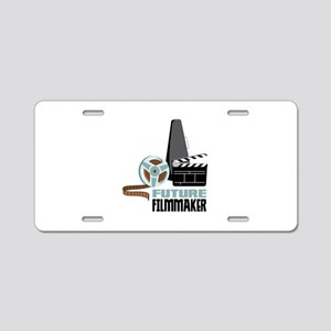Future Filmmaker Aluminum License Plate