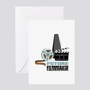 Future Filmmaker Greeting Cards