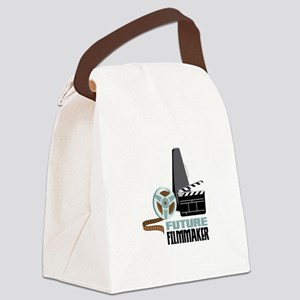 Future Filmmaker Canvas Lunch Bag