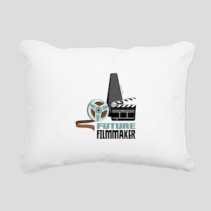 Future Filmmaker Rectangular Canvas Pillow