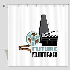 Future Filmmaker Shower Curtain