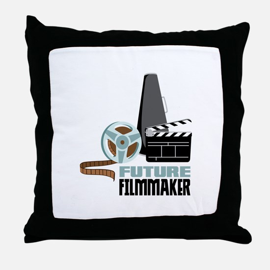 Future Filmmaker Throw Pillow