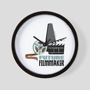 Future Filmmaker Wall Clock