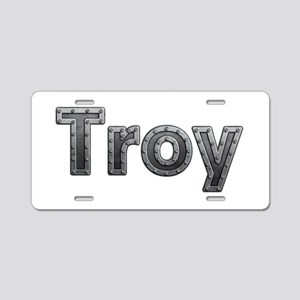 Troy Metal Aluminum License Plate