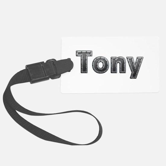 Tony Metal Luggage Tag
