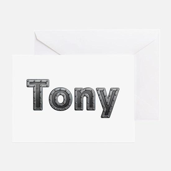 Tony Metal Greeting Card