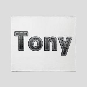 Tony Metal Throw Blanket