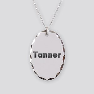 Tanner Metal Oval Necklace