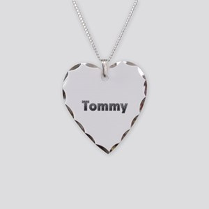 Tommy Metal Heart Necklace