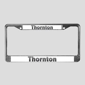 Thornton Metal License Plate Frame