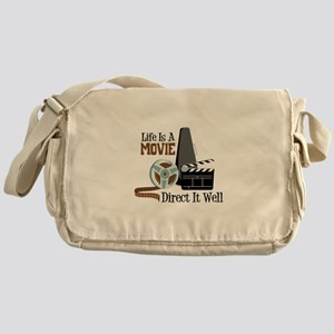Life is a Movie Direct it Well Messenger Bag