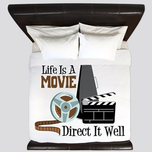 Life is a Movie Direct it Well King Duvet