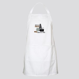 Life is a Movie Direct it Well Apron