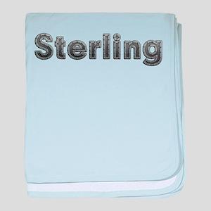 Sterling Metal baby blanket