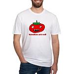Evil Evil Evil Fitted T-Shirt