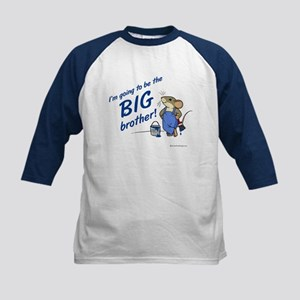 Big Brother to be Kids Baseball Jersey (Mouse)