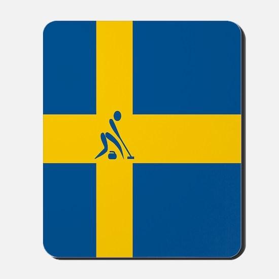 Team Curling Sweden Mousepad