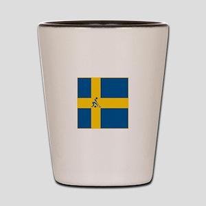 Team Curling Sweden Shot Glass