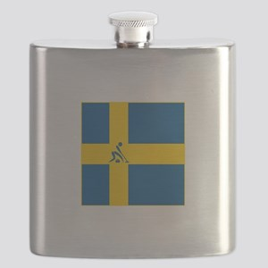 Team Curling Sweden Flask
