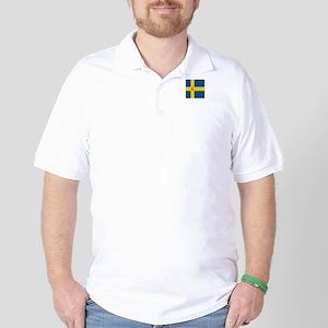 Team Curling Sweden Golf Shirt
