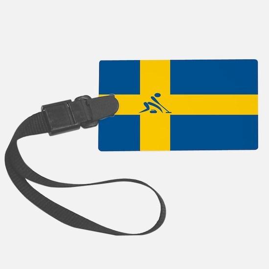 Team Curling Sweden Luggage Tag