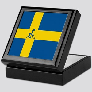 Team Curling Sweden Keepsake Box