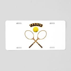 Sports - Tennis Aluminum License Plate