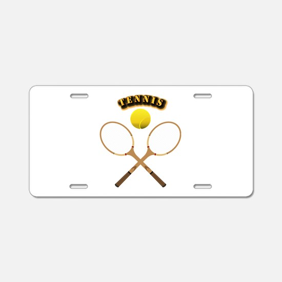 Sports - Tennis Aluminum License Plate