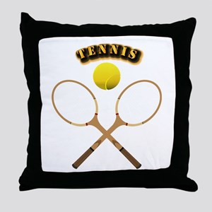Sports - Tennis Throw Pillow