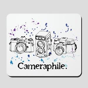 Cameraphile Mousepad