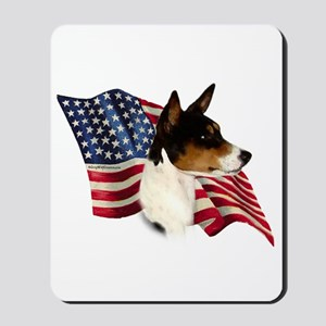 Basenji Flag Mousepad