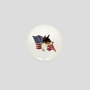 Basenji Flag Mini Button