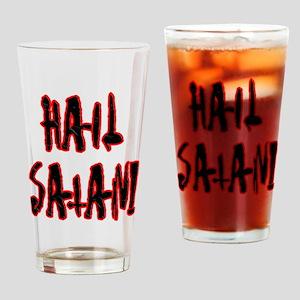 Hail Satan Drinking Glass