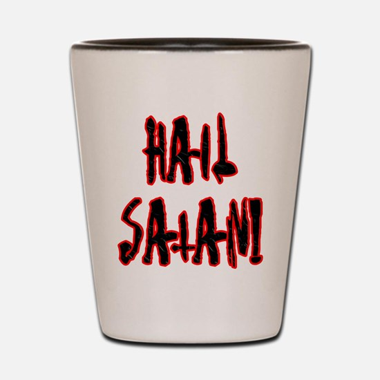 Hail Satan Shot Glass