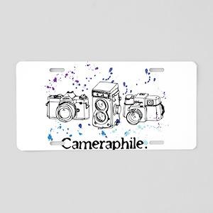Cameraphile Aluminum License Plate