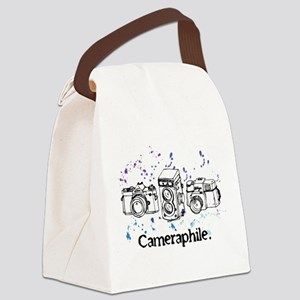 Cameraphile Canvas Lunch Bag