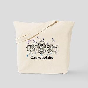 Cameraphile Tote Bag