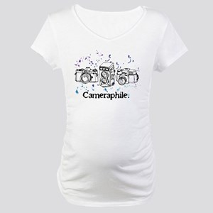 Cameraphile Maternity T-Shirt