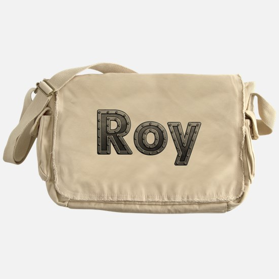 Roy Metal Messenger Bag