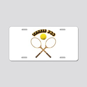 Sports - Tennis Pro Aluminum License Plate