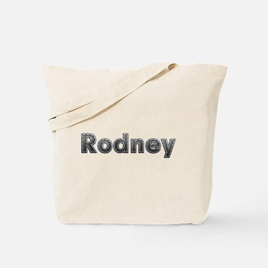 Rodney Metal Tote Bag