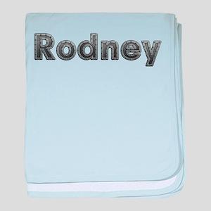 Rodney Metal baby blanket