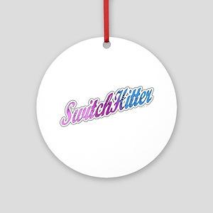 Switch Hitter Ornament (Round)