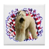 Soft coated wheaten terrier tile Coasters